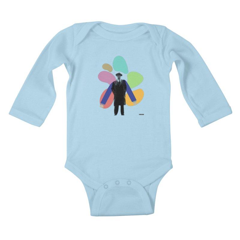 The Shape of Things Kids Baby Longsleeve Bodysuit by DRAWMARK