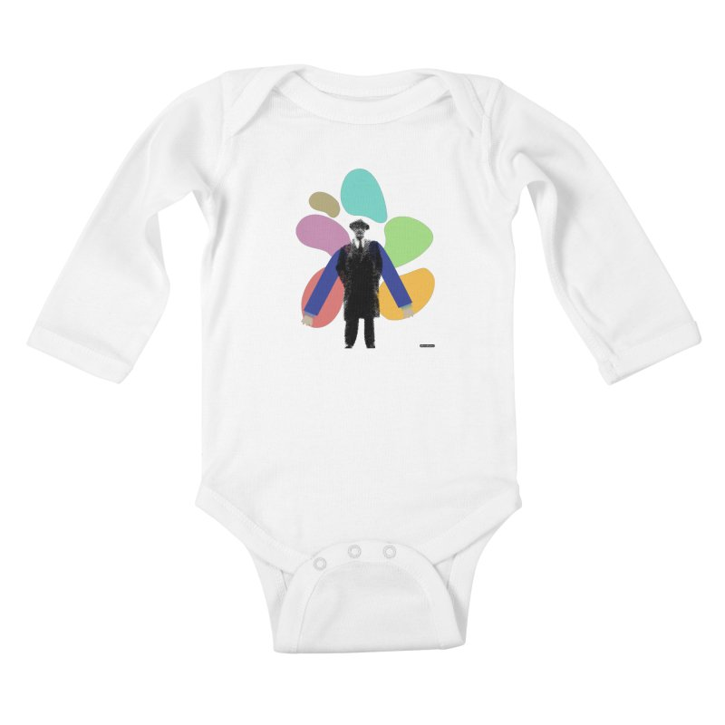 The Shape of Things Kids Baby Longsleeve Bodysuit by DRAWMARK