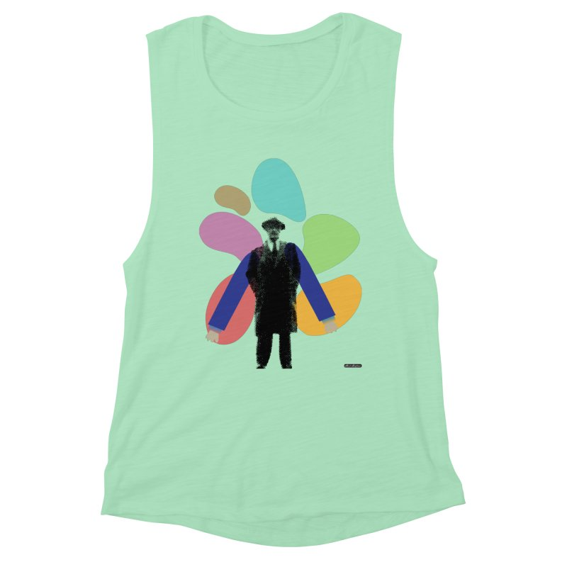 The Shape of Things Women's Tank by DRAWMARK
