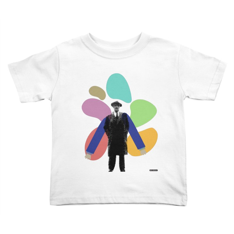 The Shape of Things Kids Toddler T-Shirt by DRAWMARK