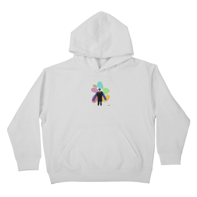The Shape of Things Kids Pullover Hoody by DRAWMARK