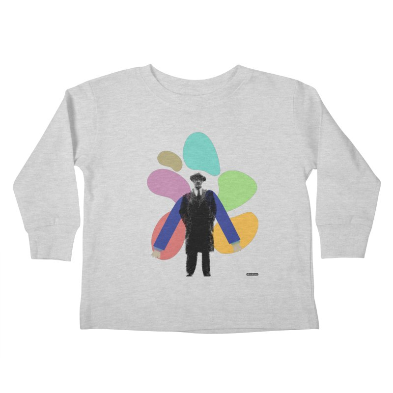 The Shape of Things Kids Toddler Longsleeve T-Shirt by DRAWMARK