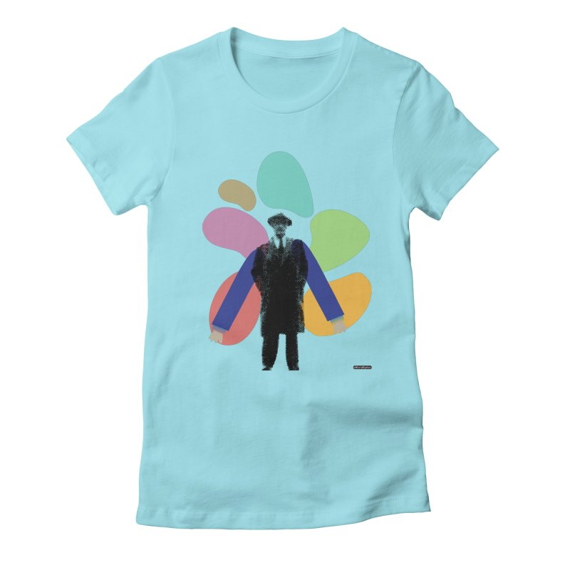 The Shape of Things Women's Fitted T-Shirt by DRAWMARK