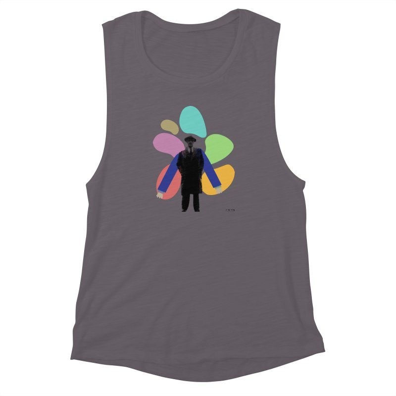 The Shape of Things Women's Muscle Tank by DRAWMARK