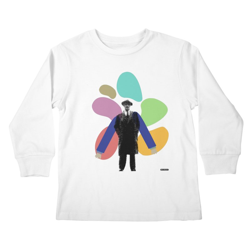 The Shape of Things Kids Longsleeve T-Shirt by DRAWMARK
