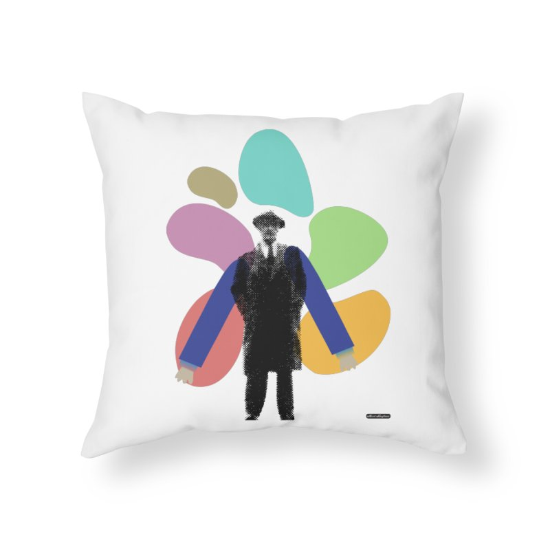 The Shape of Things Home Throw Pillow by DRAWMARK