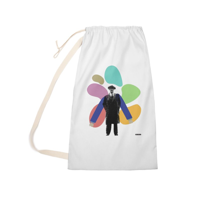 The Shape of Things Accessories Laundry Bag Bag by DRAWMARK