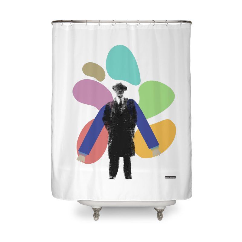 The Shape of Things Home Shower Curtain by DRAWMARK