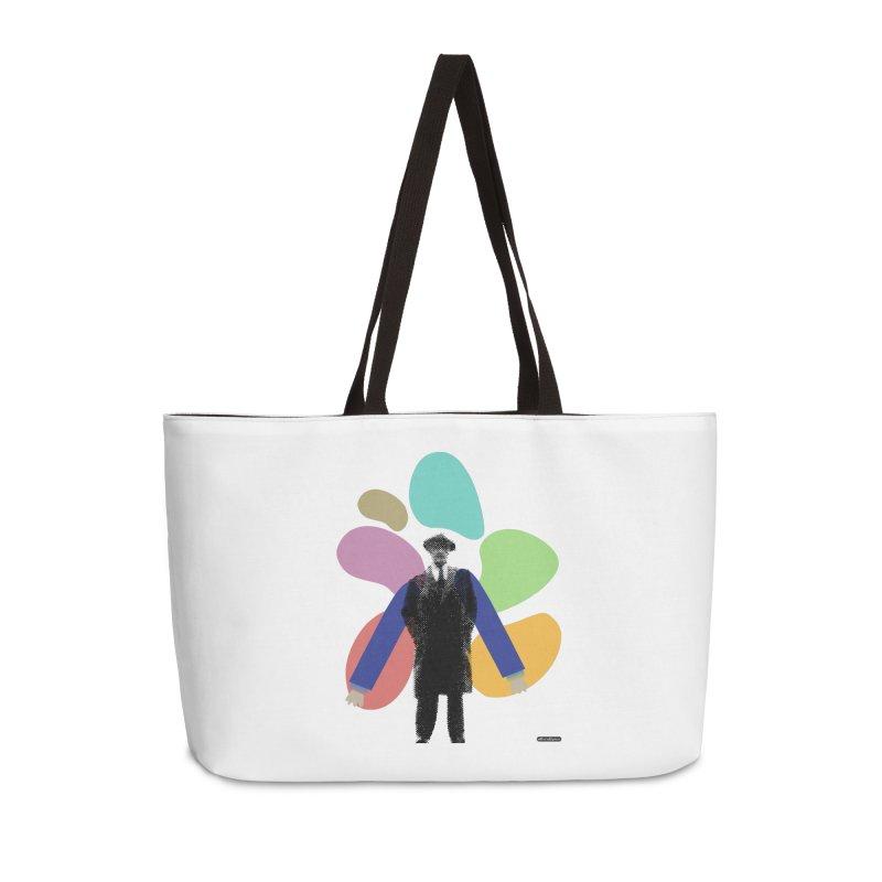 The Shape of Things Accessories Weekender Bag Bag by DRAWMARK