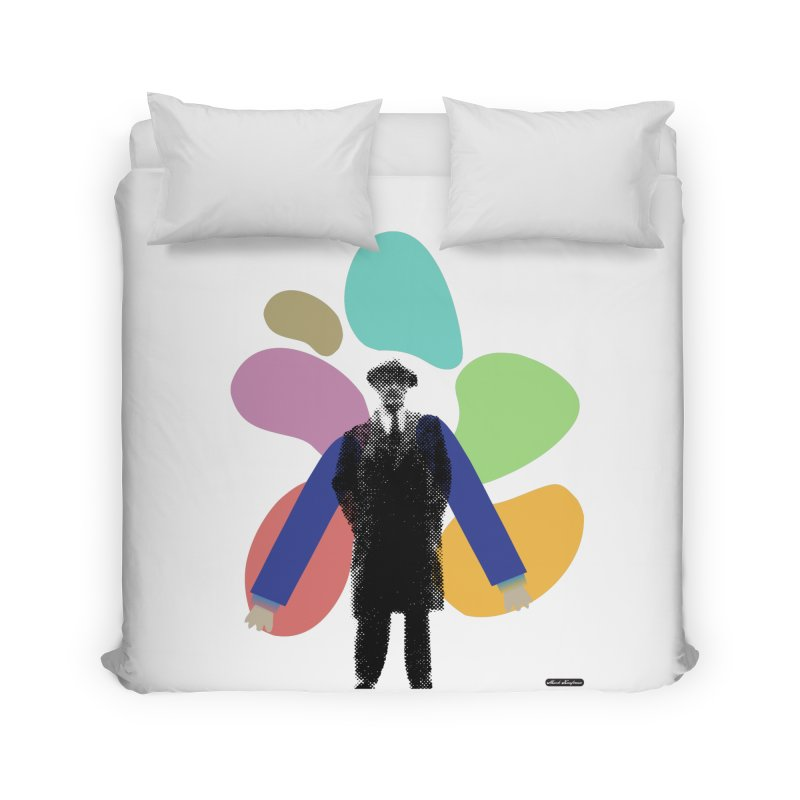 The Shape of Things Home Duvet by DRAWMARK