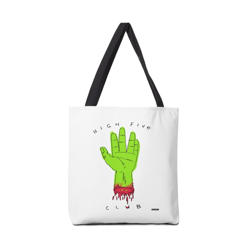 High Five Club Accessories Tote Bag Bag by DRAWMARK