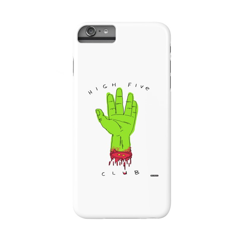High Five Club Accessories Phone Case by DRAWMARK