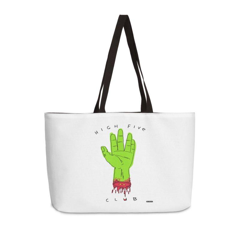 High Five Club Accessories Weekender Bag Bag by DRAWMARK
