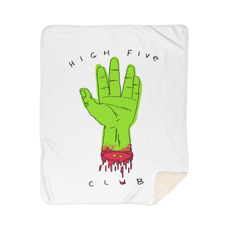 High Five Club Home Blanket by DRAWMARK