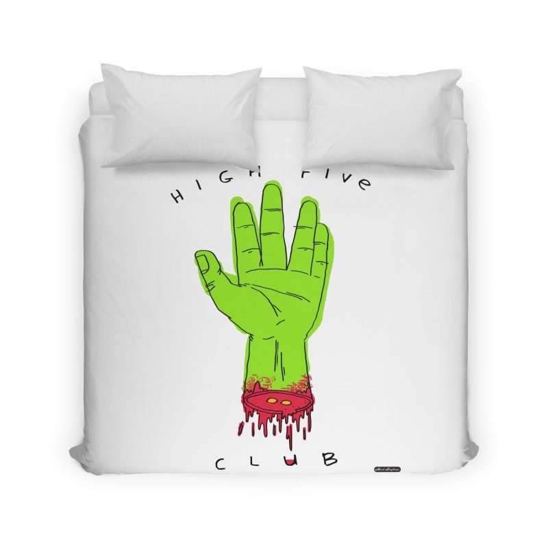High Five Club Home Duvet by DRAWMARK