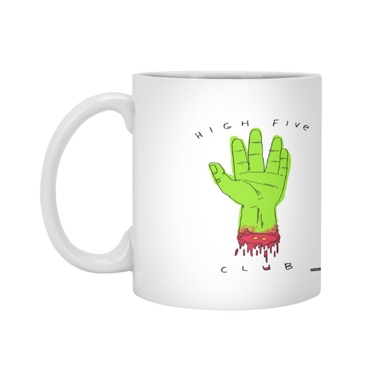 High Five Club Accessories Mug by DRAWMARK
