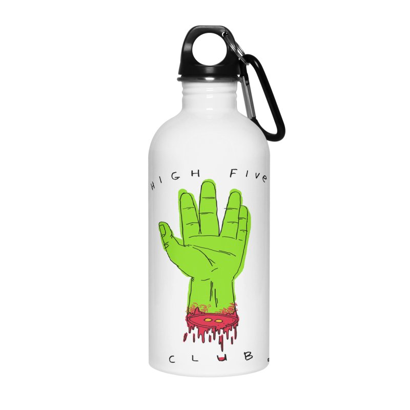 High Five Club Accessories Water Bottle by DRAWMARK