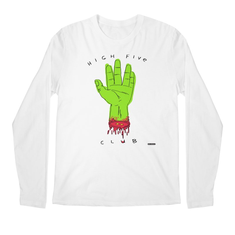 High Five Club Men's Regular Longsleeve T-Shirt by DRAWMARK