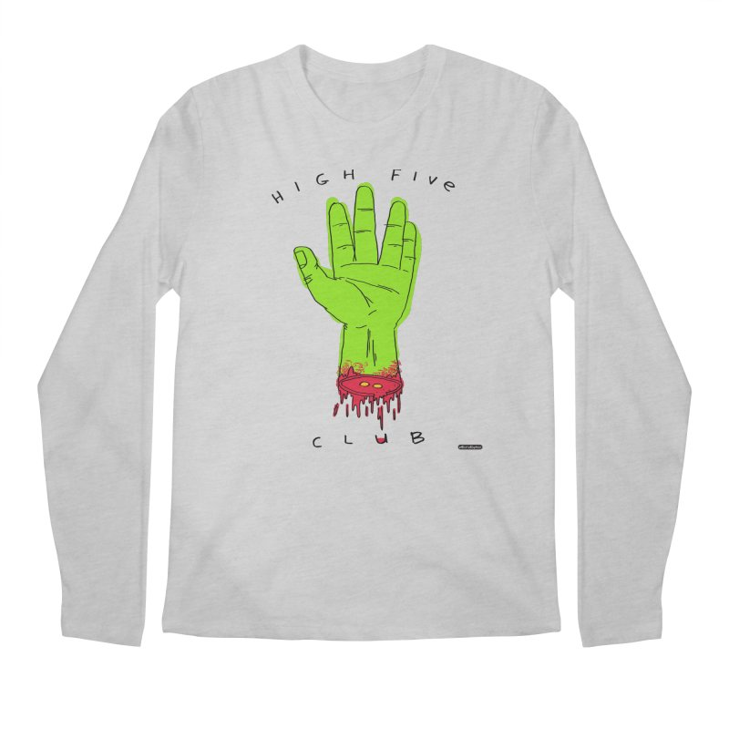 High Five Club Men's Longsleeve T-Shirt by DRAWMARK