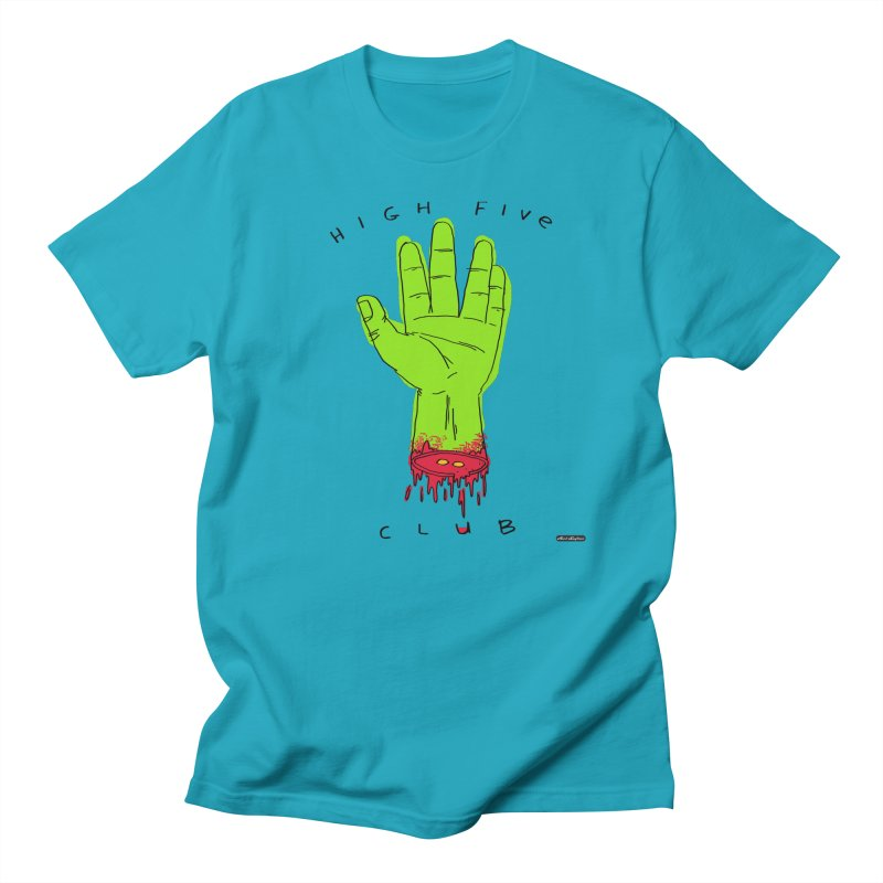 High Five Club Men's Regular T-Shirt by DRAWMARK
