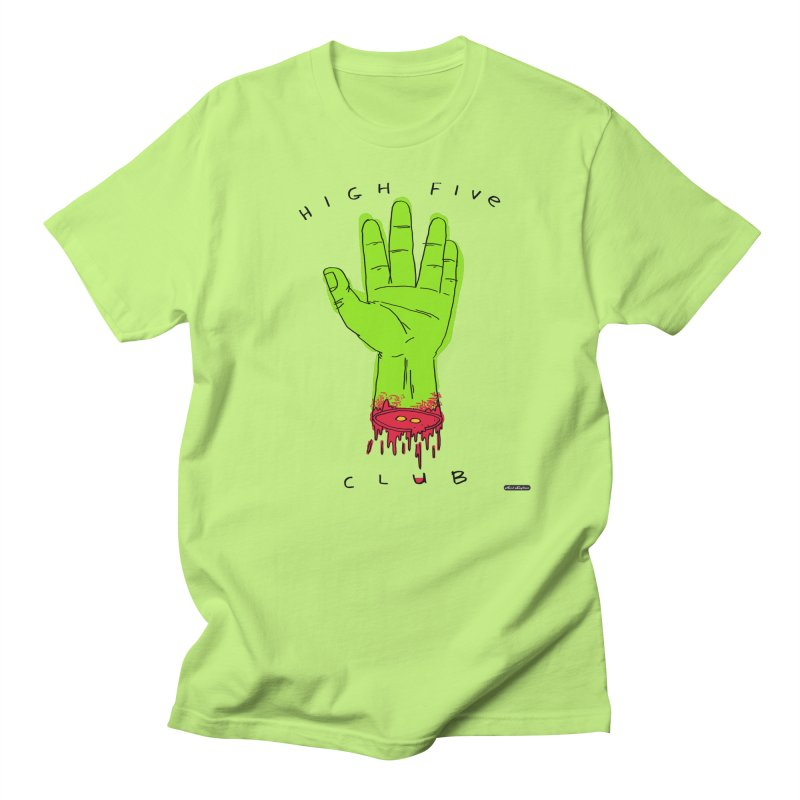 High Five Club Women's Unisex T-Shirt by DRAWMARK