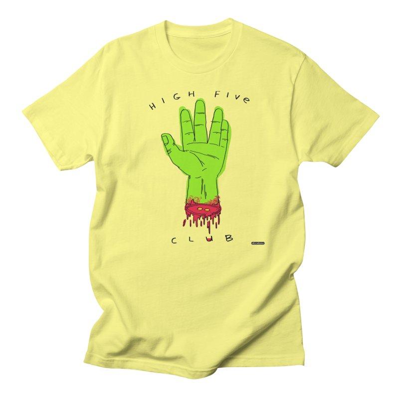 High Five Club Women's Regular Unisex T-Shirt by DRAWMARK