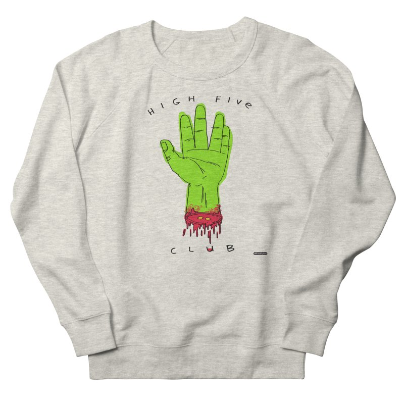 High Five Club Men's French Terry Sweatshirt by DRAWMARK