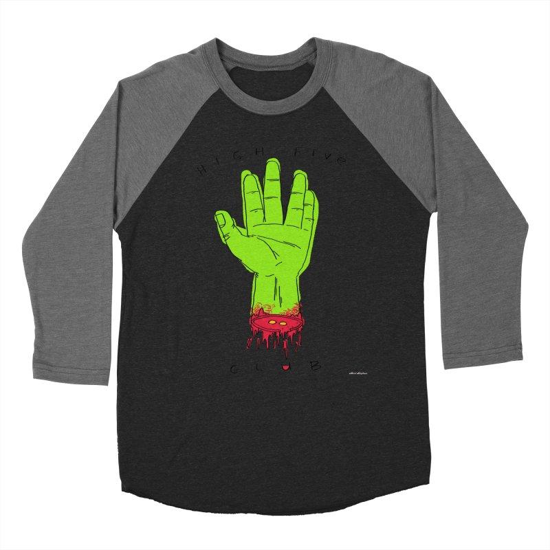 High Five Club Men's Baseball Triblend Longsleeve T-Shirt by DRAWMARK
