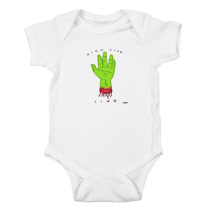 High Five Club Kids Baby Bodysuit by DRAWMARK
