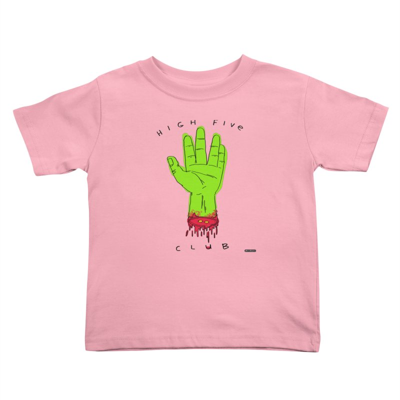 High Five Club Kids Toddler T-Shirt by DRAWMARK