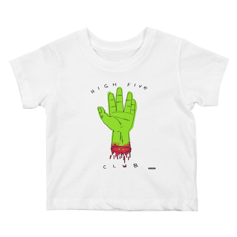 High Five Club Kids Baby T-Shirt by DRAWMARK