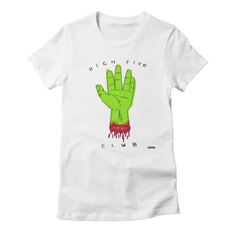 High Five Club Women's T-Shirt by DRAWMARK
