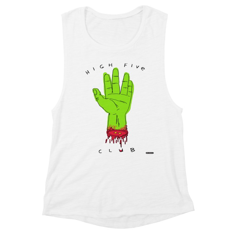 High Five Club Women's Tank by DRAWMARK