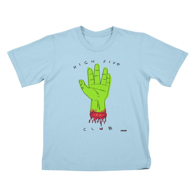 High Five Club Kids T-Shirt by DRAWMARK