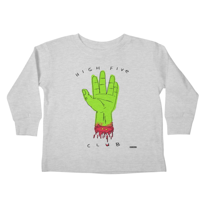 High Five Club Kids Toddler Longsleeve T-Shirt by DRAWMARK