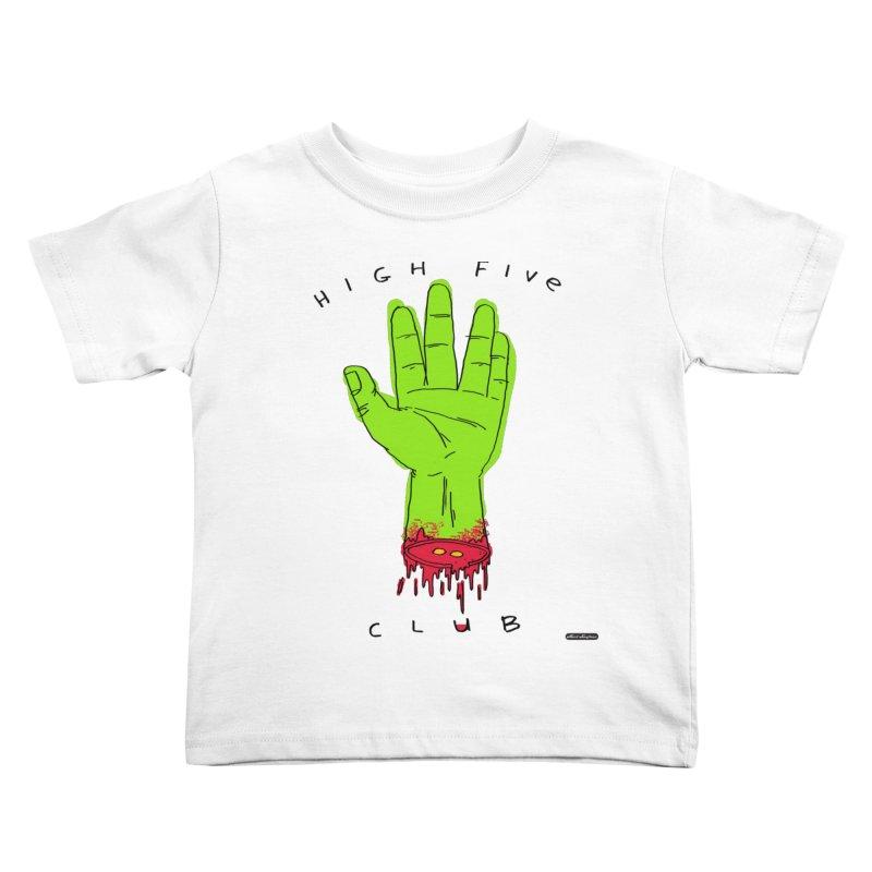 High Five Club Kids Toddler T-Shirt by DRAWMARK