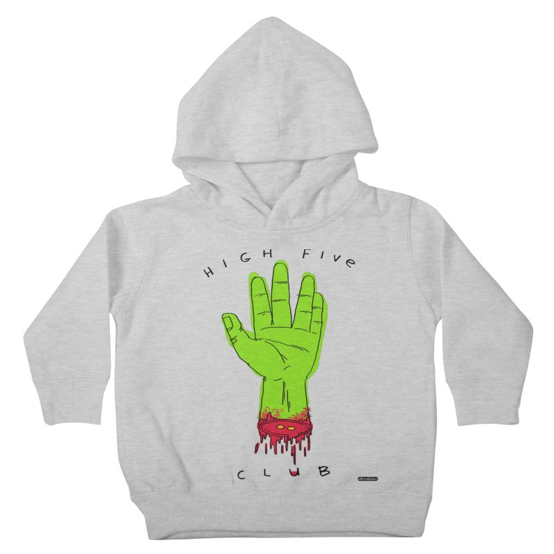 High Five Club Kids Toddler Pullover Hoody by DRAWMARK