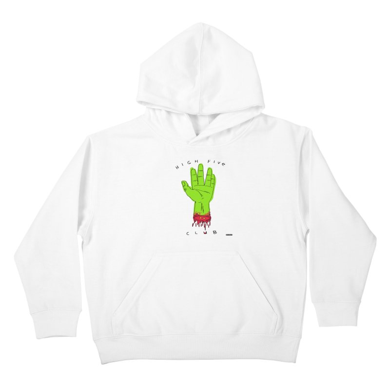 High Five Club Kids Pullover Hoody by DRAWMARK