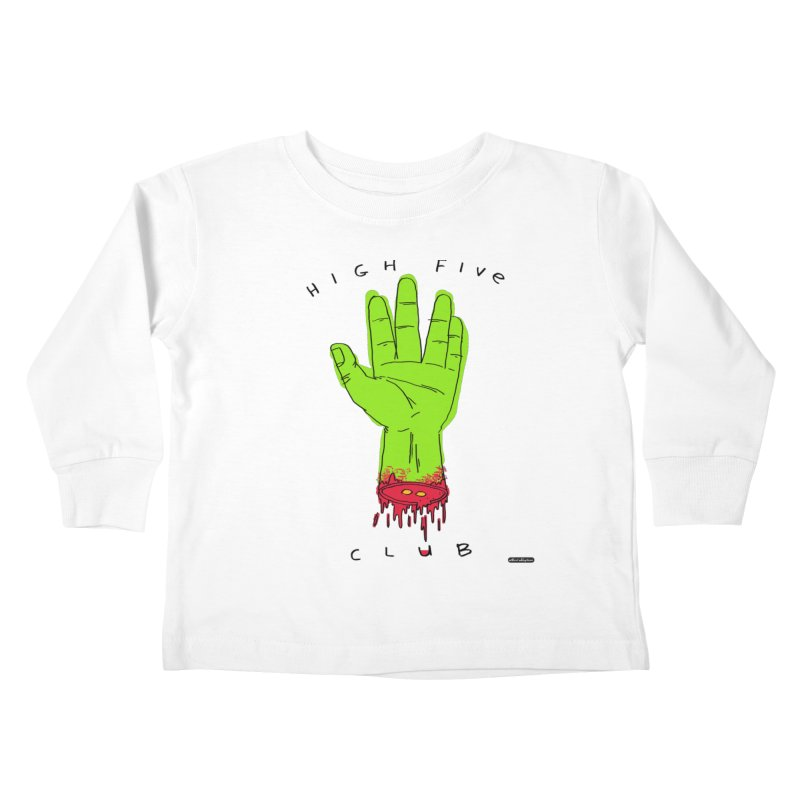 High Five Club Kids Toddler Longsleeve T-Shirt by DRAWMARK