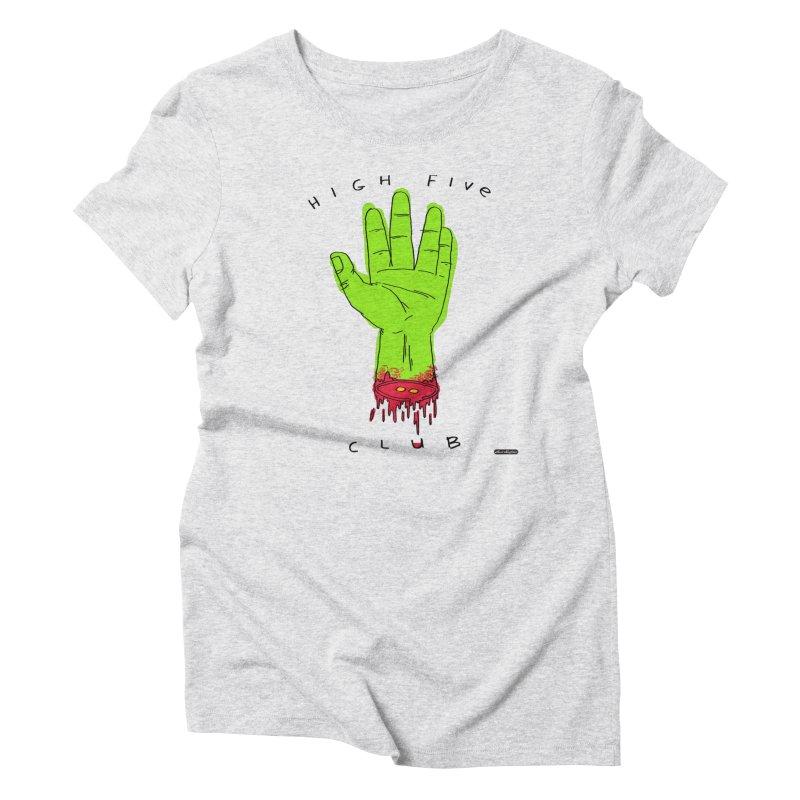 High Five Club Women's Triblend T-Shirt by DRAWMARK