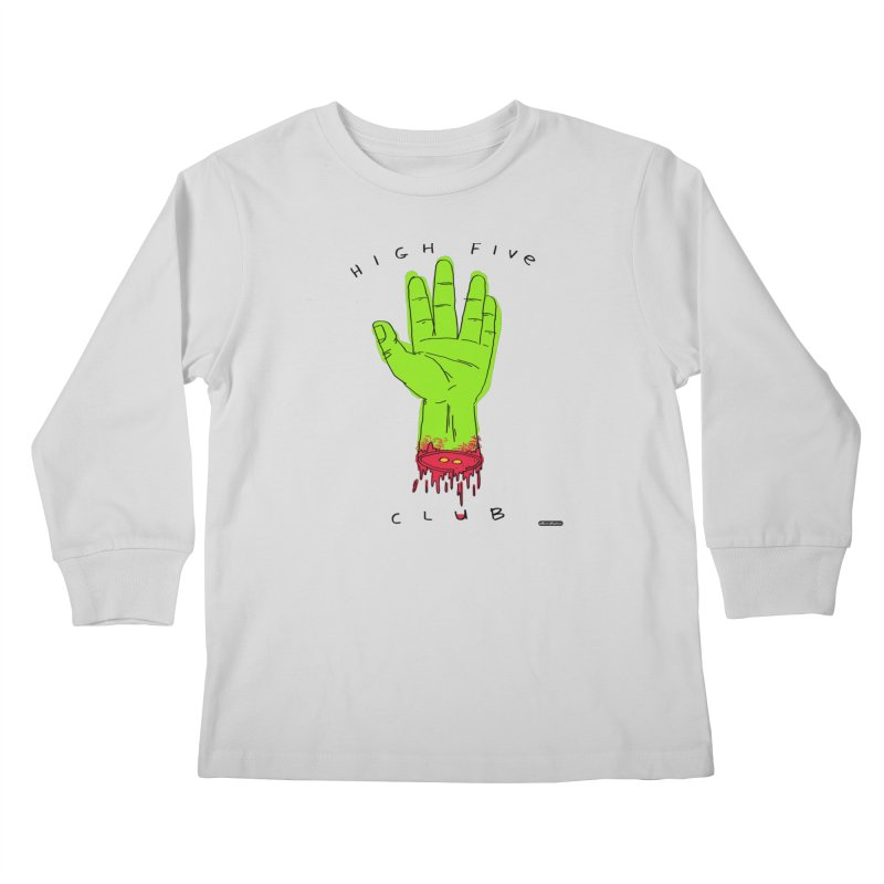 High Five Club Kids Longsleeve T-Shirt by DRAWMARK