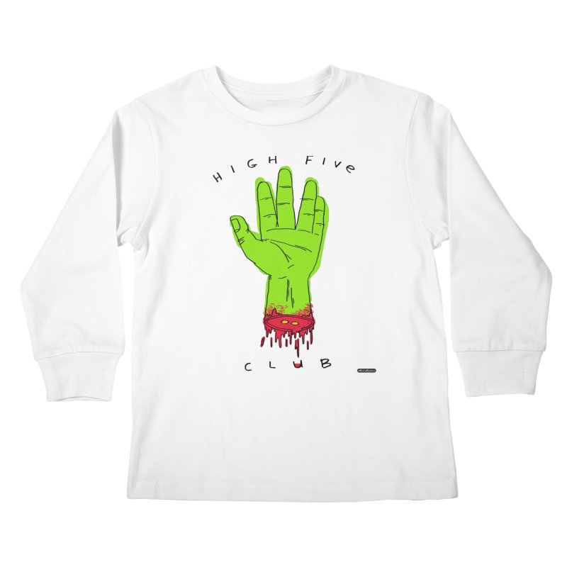 High Five Club Kids Longsleeve T-Shirt by DRAWMARK