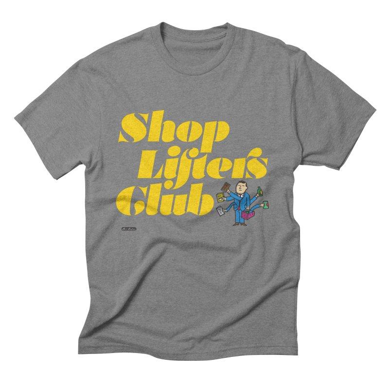 Shoplifters Club Men's Triblend T-Shirt by DRAWMARK