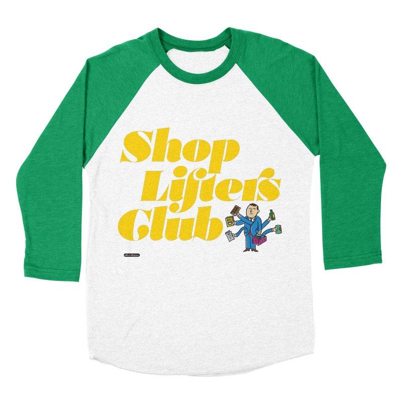 Shoplifters Club Women's Baseball Triblend Longsleeve T-Shirt by DRAWMARK