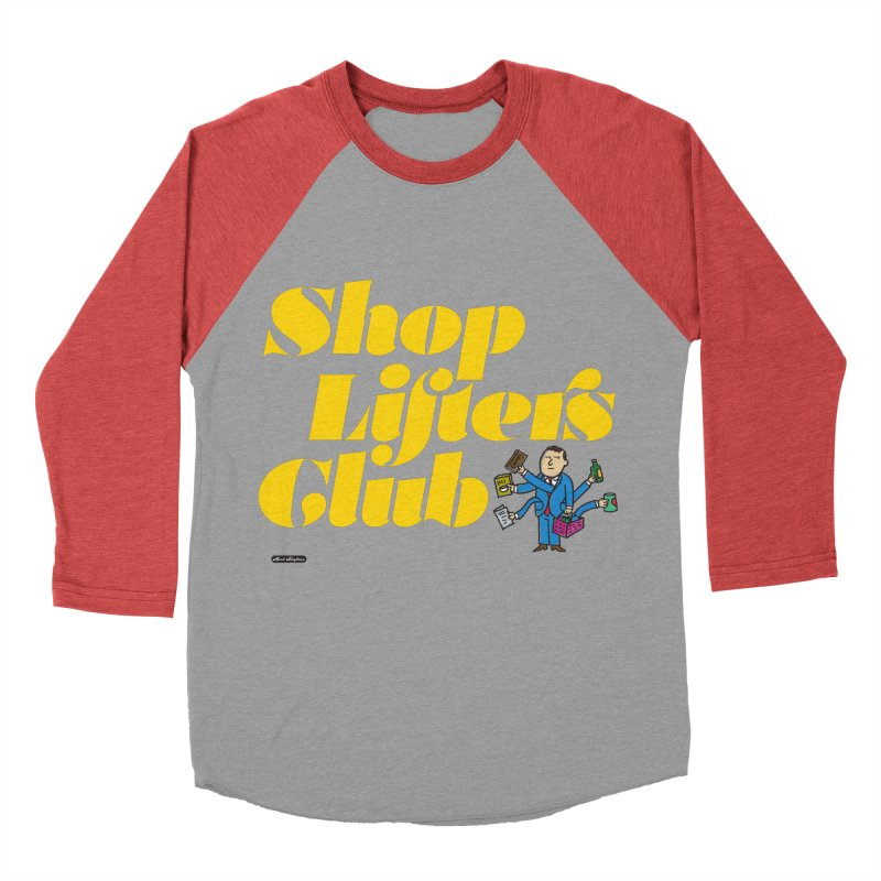 Shoplifters Club Women's Baseball Triblend Longsleeve T-Shirt by DRAWMARK