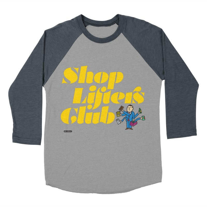 Shoplifters Club Women's Baseball Triblend T-Shirt by DRAWMARK