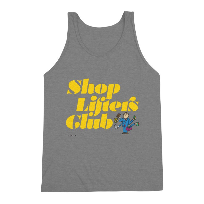 Shoplifters Club Men's Triblend Tank by DRAWMARK