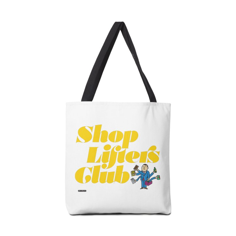 Shoplifters Club Accessories Tote Bag Bag by DRAWMARK