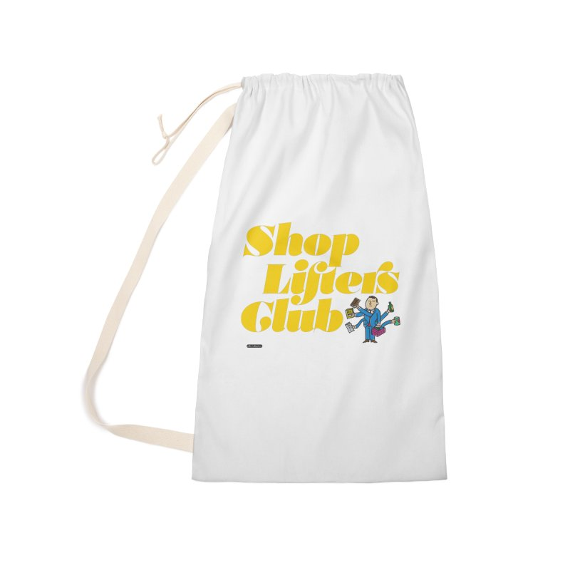 Shoplifters Club Accessories Laundry Bag Bag by DRAWMARK