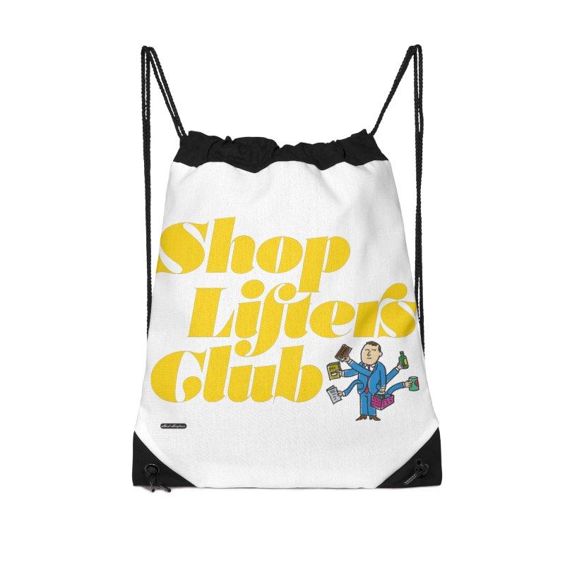 Shoplifters Club Accessories Drawstring Bag Bag by DRAWMARK